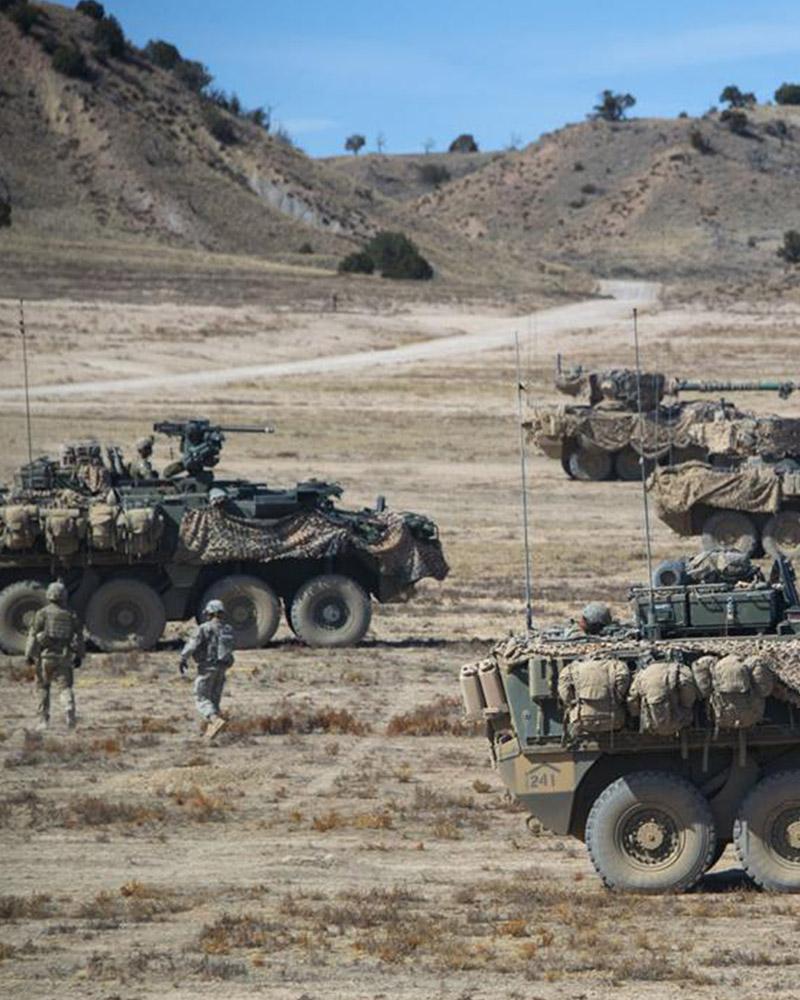 Stryker Fort Carson